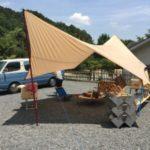 久々のデイキャンプ