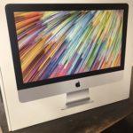 MacBookProが壊れたのでiMac買いました