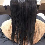 髪質改善薬剤塗布