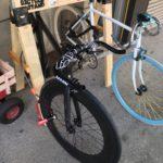 久米川 美容室|自転車スタンド作りました