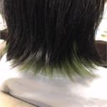 久米川 美容院|インナーカラーで染めました