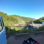 四万湖にSUP&観光