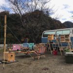 デイキャンプで青野原オートキャンプ場に行ってきました