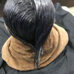 久米川 美容院|オーガニック認証マーク取得したHUEで白髪染めしました