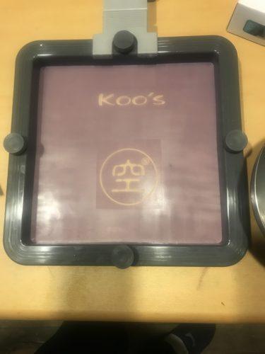 KOO'Sシルクスクリーン