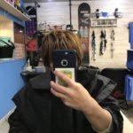 久米川 美容院|サンプルで頂いた新色のカラーリングで染めてみました