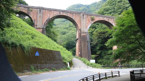 軽井沢 めがね橋