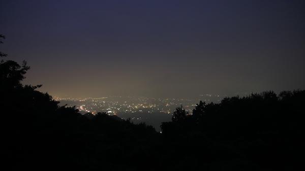 秩父美の山公園からの夜景