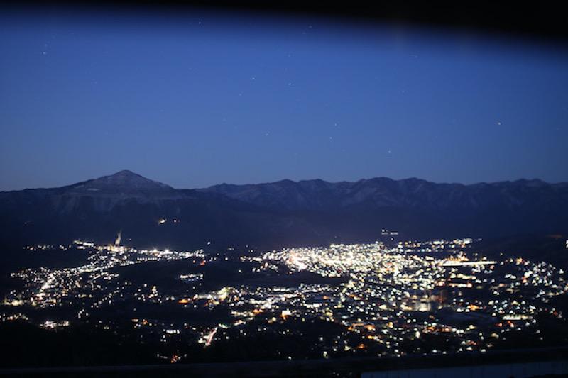 秩父美の山公園夜景