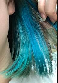 塩基性カラーブルー