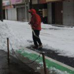 雪かき&事件